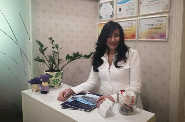основатель «Центра создания вашего образа «Перевоплощение» Ирина Егорова всегда рада клиентам.