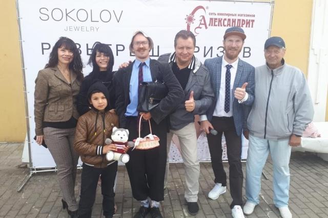 Открытие брендовой зоны SOKOLOV в Бежецке.