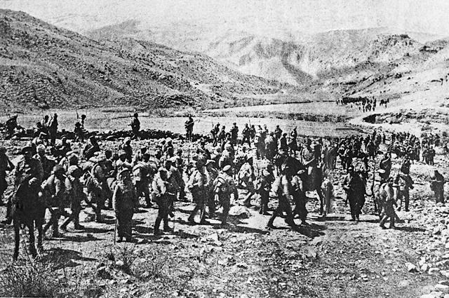 Вступление русских войск в Трапезунд. Фото: РИА Новости