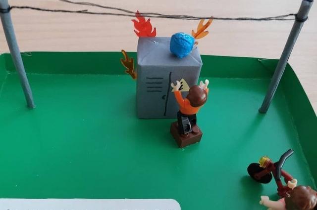 Такой конкурс среди учащихся специалисты «Т Плюс» провели по итогам одного из «уроков тепла».
