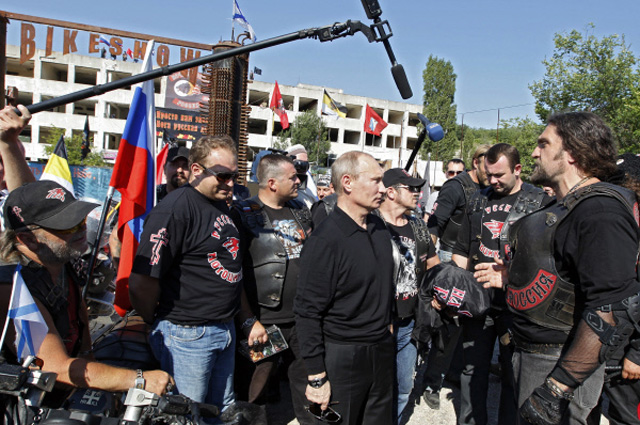 Мотоклуб «Ночные волки»и Владимир Путин