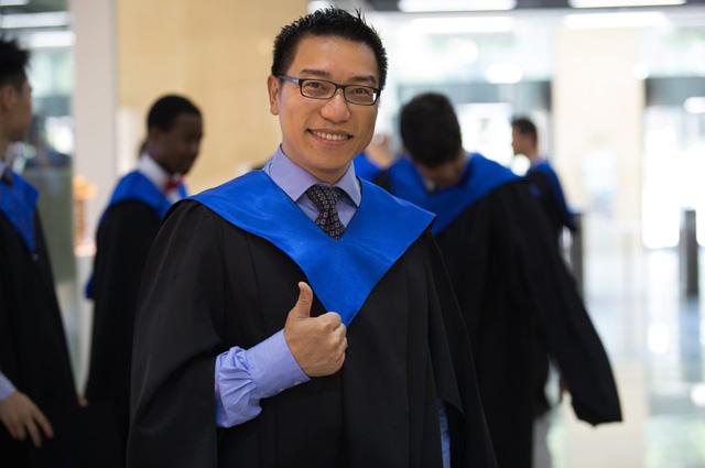 Студент из Гонконга Энди Нг.