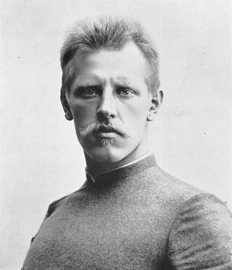 Норвежский исследователь Фритьоф Нансен.
