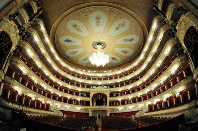 Интерьеры Большого театра после завершения реконструкции. 2011 год