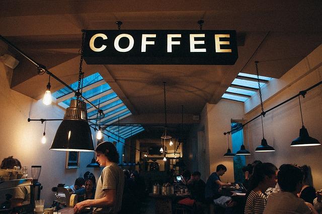 Кафе - дорого.