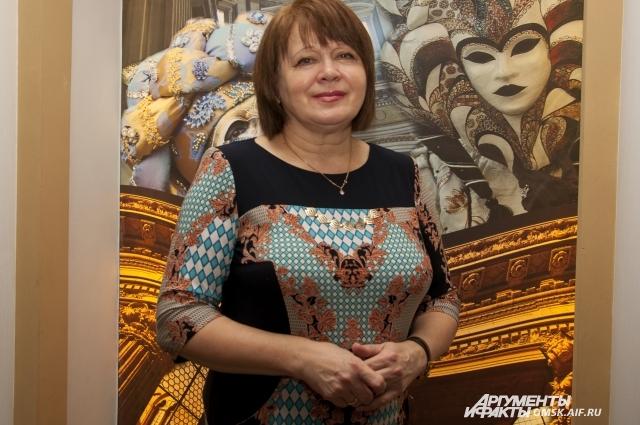 Ольга Гущина 40 лет работает в театре.